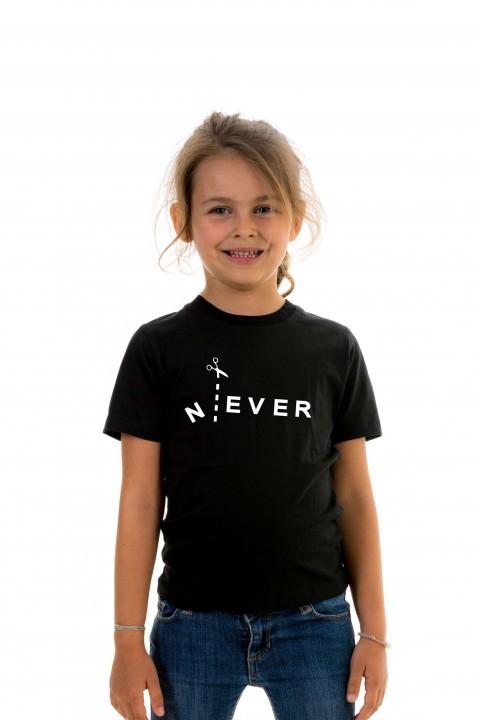 T-shirt kid Never