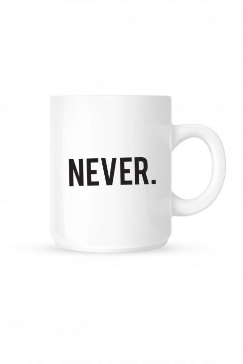 Mug NEVER.