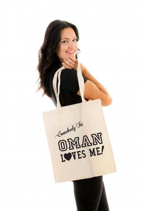 Tote bag Oman Loves Me!