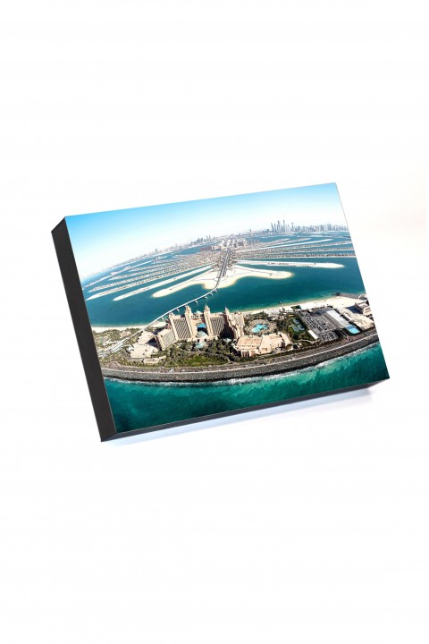 Frame to go Palm Jumeirah By Emmanuel Catteau