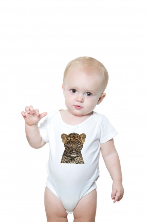 Baby romper Panther