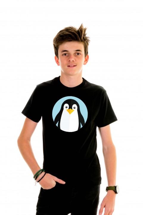 T-shirt kid Pingouin