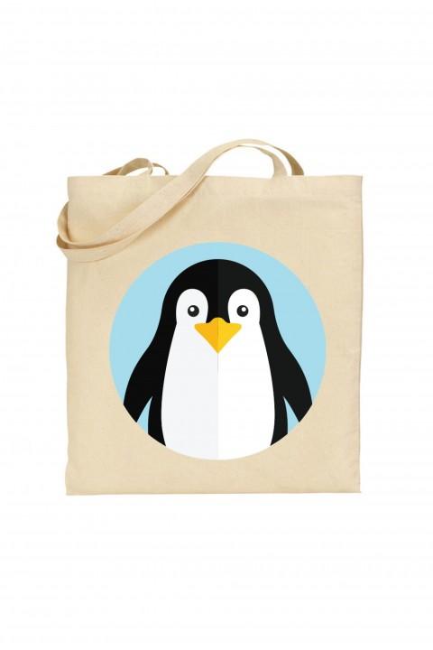 Tote bag Pingouin