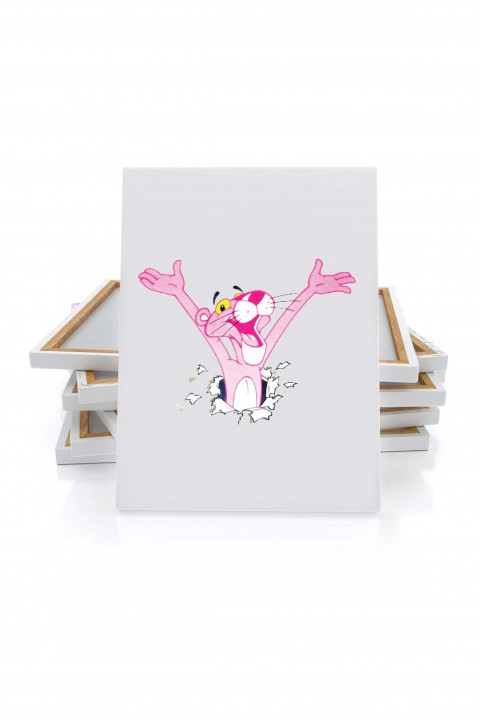 Canvas Pink Panther