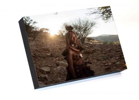 Frame to go Portrait Of Namibian Girl By Emmanuel Catteau