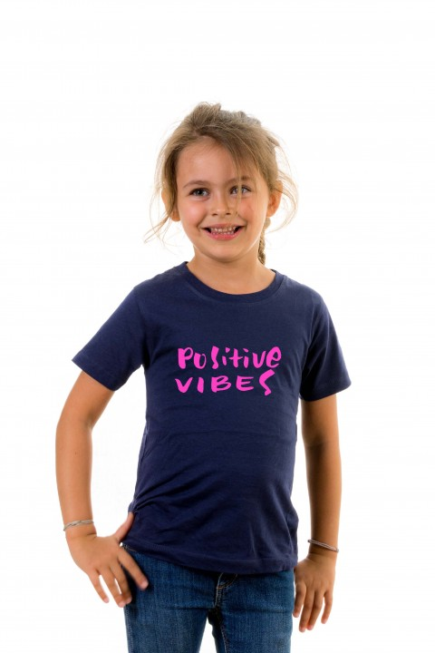 T-shirt kid Positive Vibes