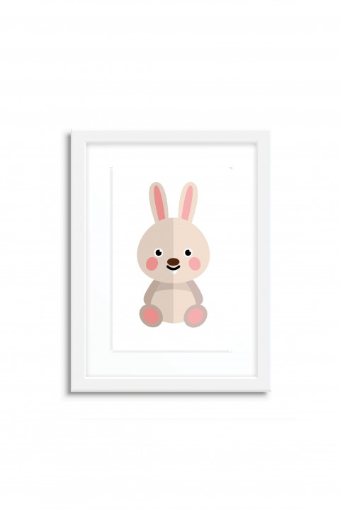 Poster with frame Rabbit