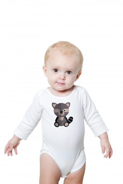 Baby romper Raccoon