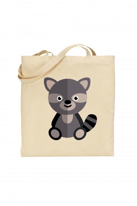Tote bag Raccoon