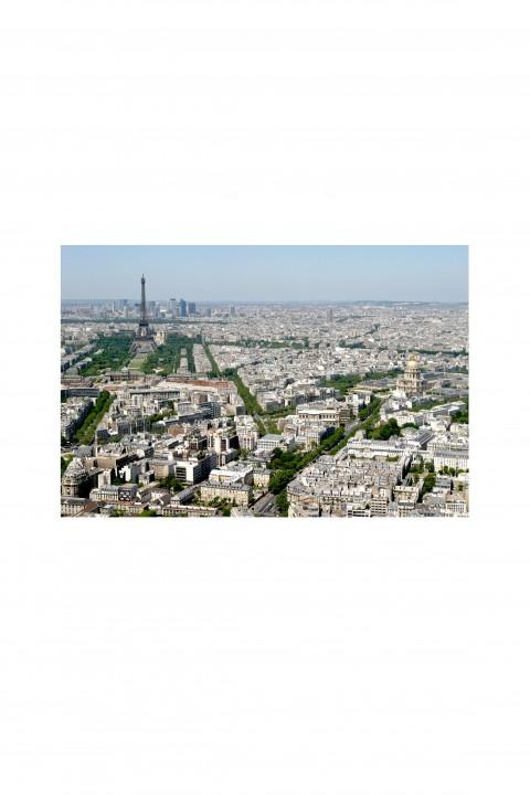 Poster Rooftop - Paris By Emmanuel Catteau