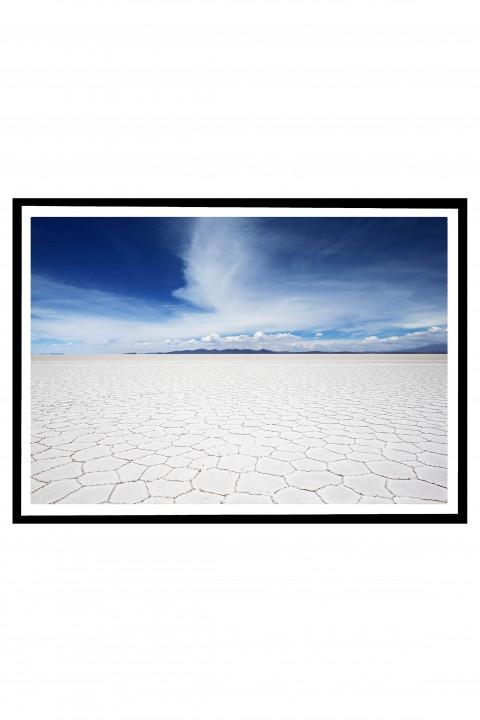 Poster with frame Salar de Uyuni - Bolivia By Emmanuel Catteau