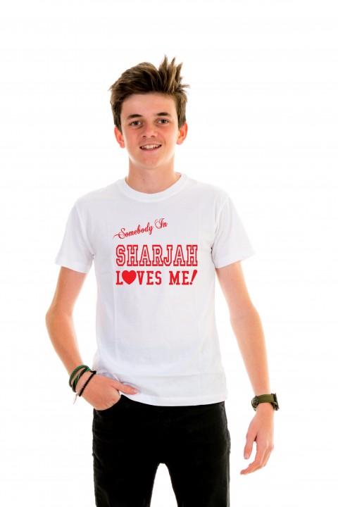 T-shirt kid Sharjah Loves Me!