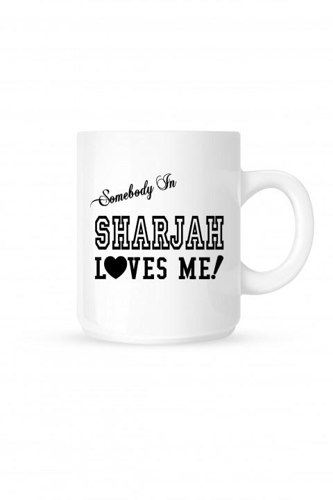 Mug Sharjah Loves Me!