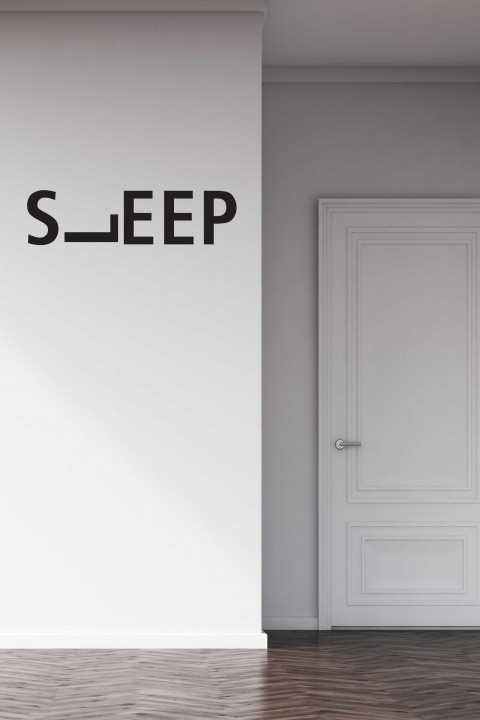 Vinyl wall sticker Sleep