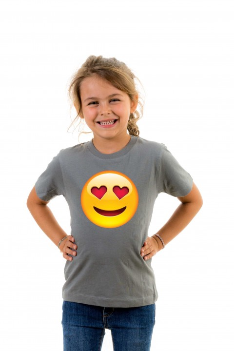 T-shirt kid Smiley Love