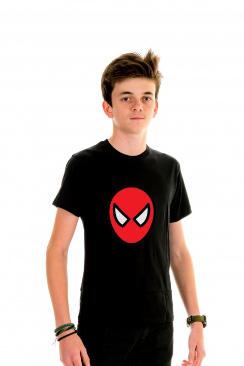 T-shirt Kid Spiderman Illustration