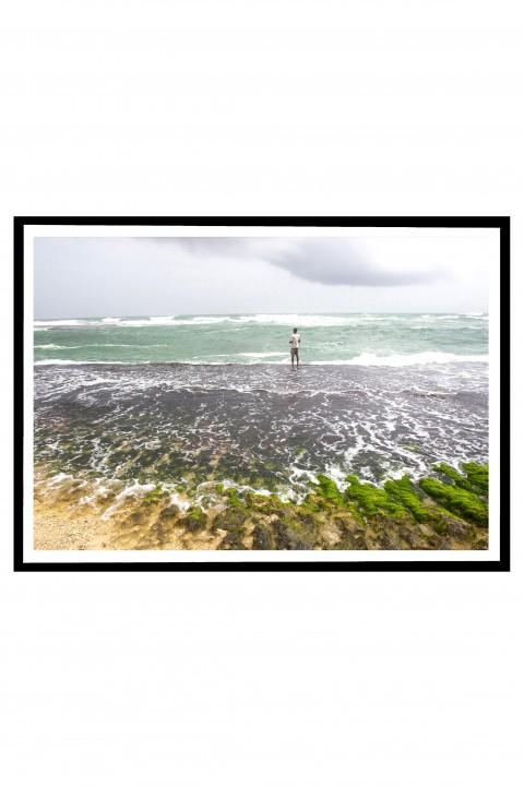 Poster with frame Sri Lanka By Emmanuel Catteau