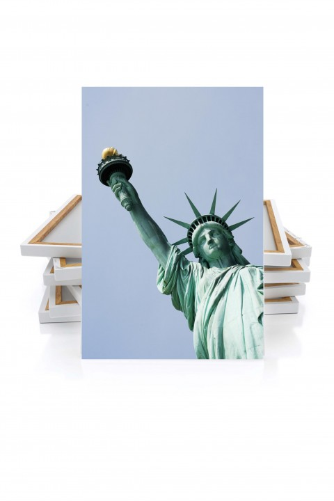 Canvas Statue of Liberty - New-York - USA - By Emmanuel Catteau