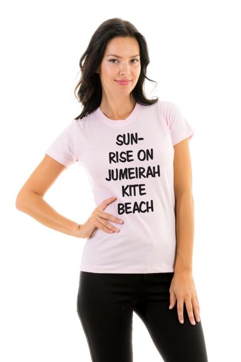 T-shirt Sunrise on Jumeirah kite Beach
