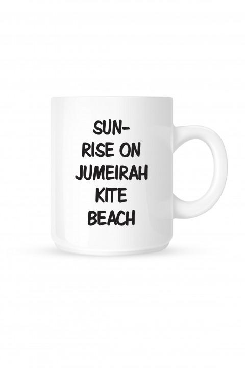 Mug Sunrise on Jumeirah kite Beach