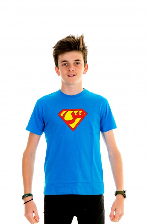 T-shirt Kid Superman Arabic