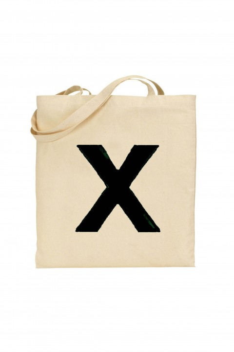 Tote bag Ed Sheeran - X