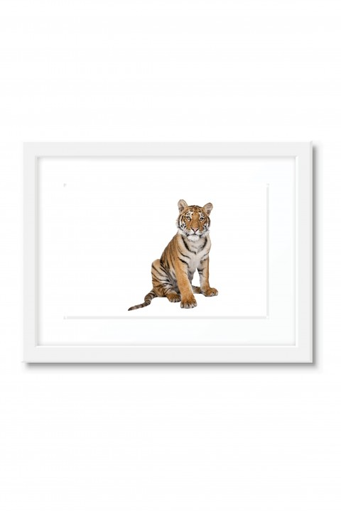 Poster with frame The Tiger
