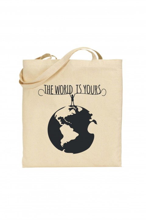 Tote bag The World Is Yours