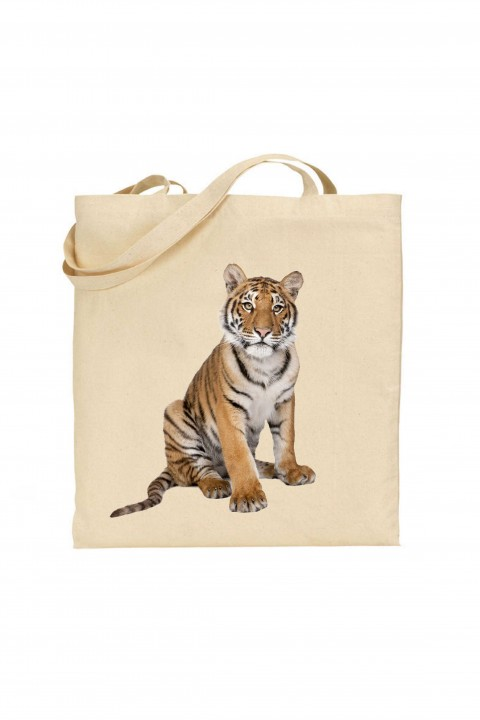 Tote bag The Tiger