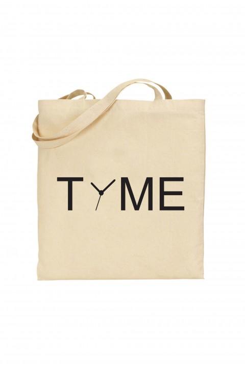 Tote bag Time