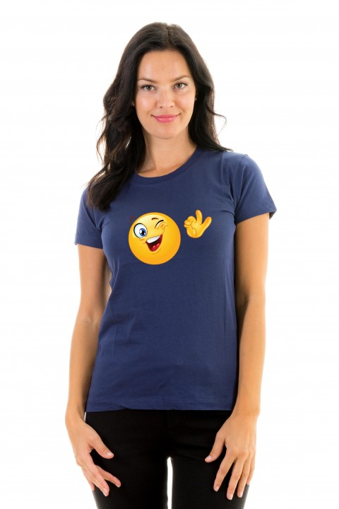 T-shirt Smiley Ok
