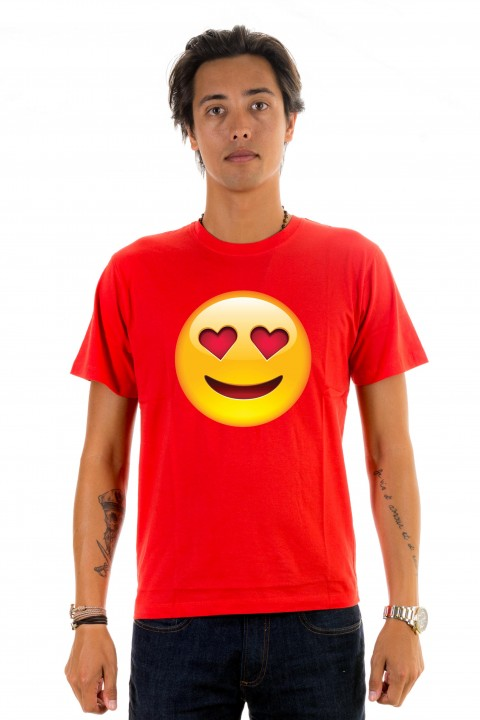 T-shirt Smiley Love