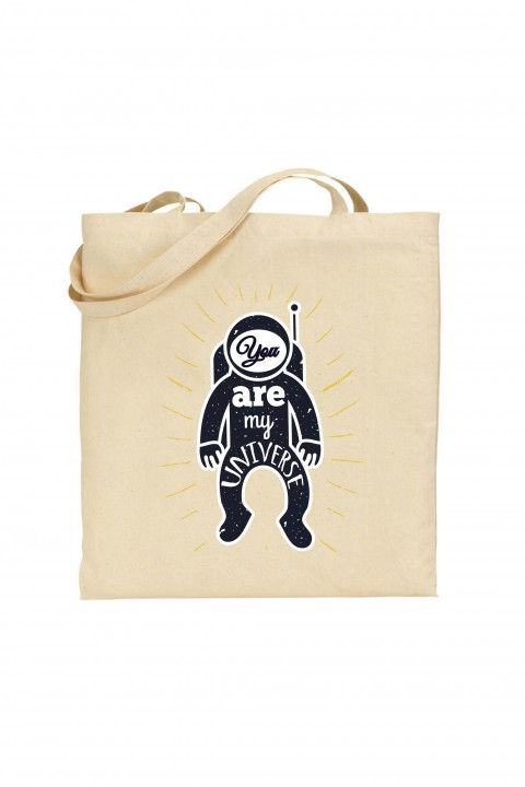 Tote bag You Are My Universe