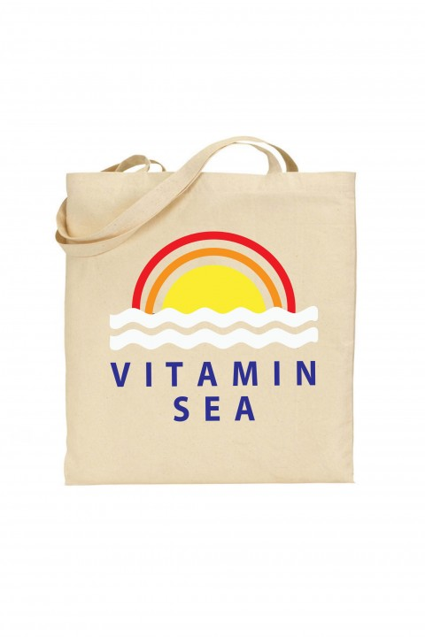 Tote bag Vitamin sea