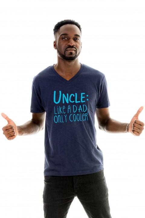T-shirt v-neck Uncle