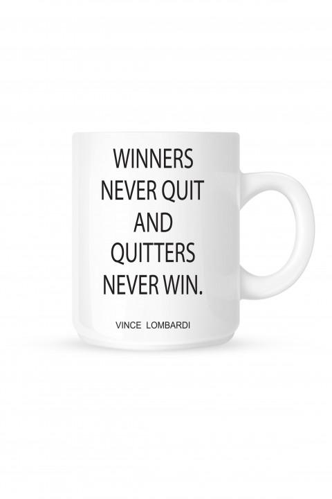 Mug Winners Never Quit