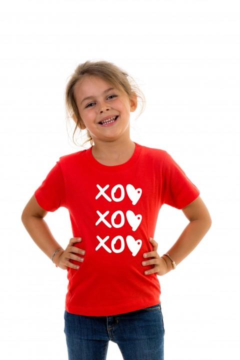 T-shirt kid XOXOXO